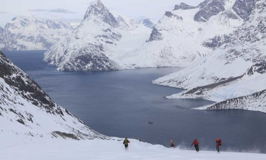 Ski Touring-Sailing in Alaska
