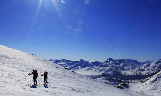 Ski voile Alaska